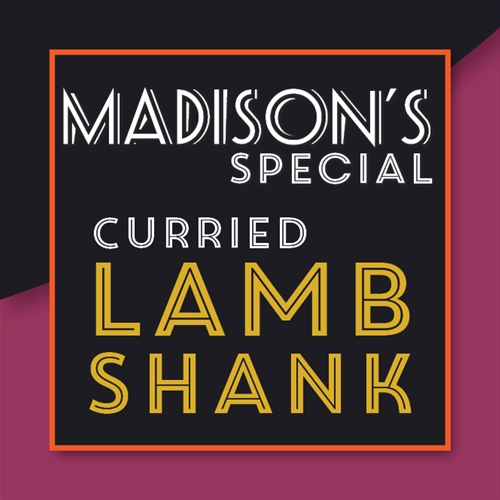 Curried Lamb Shank Special
